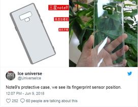 Thay đổi nhỏ về thiết kế giúp Galaxy Note 9 có viên pin lớn hơn
