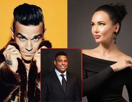 Robbie Williams, Aida Garifullina trình diễn ở lễ khai mạc World Cup 2018