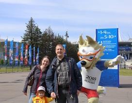 Ký sự World Cup: Sức nóng của nước Nga trước giờ bóng lăn