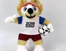 """Thú bông linh vật World Cup 2018 giá rẻ bằng 1/3 tại Nga, thường xuyên """"cháy hàng"""""""