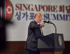 Ông Trump không chợp mắt suốt 25 giờ vì cuộc gặp với ông Kim Jong-un