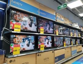Sức mua TV tăng khi Việt Nam loạt vào vòng bán kết AFF Cup 2018