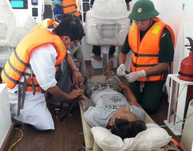 Điều trực thăng ra Trường Sa cứu ngư dân bị xuất huyết não