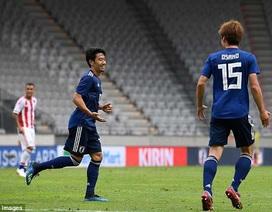 Kagawa tỏa sáng, Nhật Bản thắng tưng bừng trước World Cup 2018