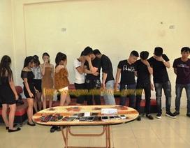 Đột kích quán karaoke, phát hiện 9 thanh niên sử dụng ma túy