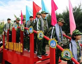 """75 """"chiến sĩ nhí"""" tham gia Học kỳ quân đội"""