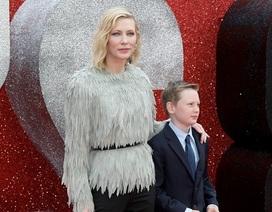 Cate Blanchett bất ngờ đưa con trai dự công chiếu phim