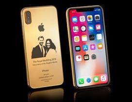"""Chiêm ngưỡng siêu phẩm iPhone X """"đám cưới hoàng gia"""" giá hơn trăm triệu"""