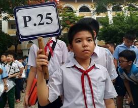 Hàng ngàn học sinh giỏi tranh suất vào lớp 6 trường Trần Đại Nghĩa