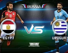 Ai Cập - Uruguay: Thành công khẳng định giá trị