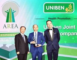 """Doanh nghiệp Việt được vinh danh nhận giải thưởng danh giá """"Doanh nghiệp trách nhiệm châu Á 2018"""