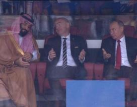 Biểu cảm hài hước của Tổng thống Putin trong chiến thắng của Nga