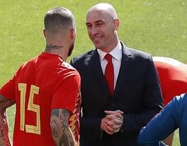 Sergio Ramos đòi tẩn Chủ tịch LĐBĐ Tây Ban Nha