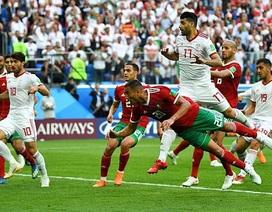 Morocco 0-1 Iran: Pha phản lưới nhà ở phút bù giờ
