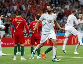 Bồ Đào Nha 3-3 Tây Ban Nha: Cú hattrick của C.Ronaldo
