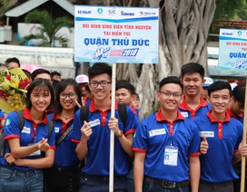Hơn 8.000 sinh viên tình nguyện hỗ trợ thí sinh dự thi THPT Quốc gia tại TPHCM