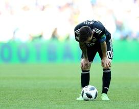 Con số cho thấy sự tệ hại của Lionel Messi ở trận gặp Iceland
