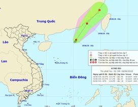 Diễn biến mới nhất về áp thấp nhiệt đới đang hoạt động trên Biển Đông