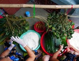 Xóm bánh ú lá tre ở Sài Gòn tất bật dịp Tết Đoan Ngọ