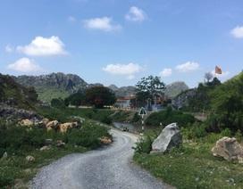 Chùa Hàn Sơn lâm nguy vì khai thác đá: Đình chỉ khai thác tại mỏ đá