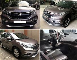 Honda CR-V cũ lắp ráp trong nước vẫn giữ giá dù có xe mới nhập khẩu