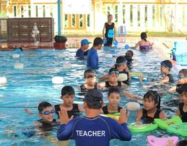Tập huấn bơi an toàn, phòng chống đuối nước cho học sinh, trẻ em Hội An