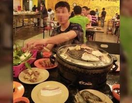 Thanh niên giả nghèo để ăn xin rồi chễm chệ ngồi ăn ở nhà hàng sang trọng