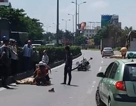 Một CSGT gặp nạn khi làm nhiệm vụ trên quốc lộ 5