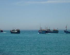 Tàu Trung Quốc xua đuổi 20 tàu cá Việt Nam ở quần đảo Hoàng Sa