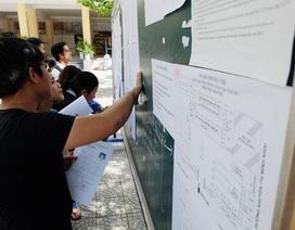 Đà Nẵng: Thay đổi một điểm trường thi THPT quốc gia