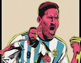 16 tấm poster ấn tượng về các đội bóng tại World Cup 2018