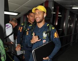 Neymar cùng đồng đội tới Anfield, chuẩn bị thi đấu với Croatia