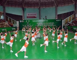 Tưng bừng Hội thi thể dục buổi sáng, giữa giờ và võ cổ truyền 2018