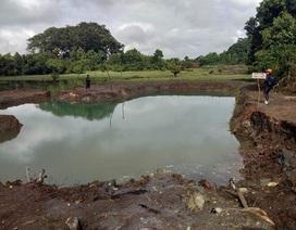 Hai học sinh chết đuối trong ao nước mới đào