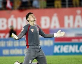 Thủ môn Đặng Văn Lâm phấn khích với đội tuyển Nga