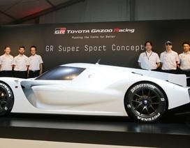 Toyota ấp ủ dự án sản xuất siêu xe thể thao với công nghệ xe đua Le Mans