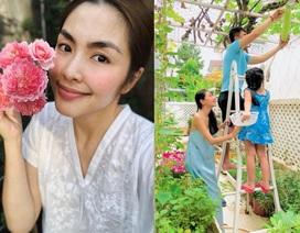 Ngẩn ngơ vườn đẹp như mơ trong biệt thự triệu đô nhà Hà Tăng, Thuỷ Tiên