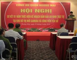 Công an quận Hoàng Mai phối hợp đảm bảo an ninh trật tự cho cư dân Gamuda