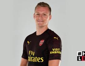 Arsenal chính thức công bố tân binh thứ hai