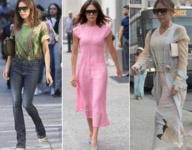 Phong cách thời trang trẻ trung của Victoria Beckham