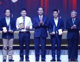 Chủ tịch nước trao 8 giải A Giải báo chí Quốc gia năm 2017