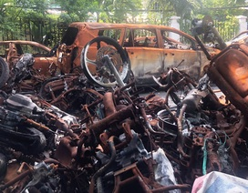 Vụ cháy chung cư Carina: 45 ngày sửa chữa, liệu có bảo đảm?