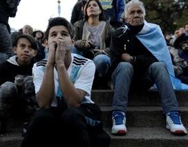 Không khí buồn bã của người dân Argentina sau thất bại trước Croatia