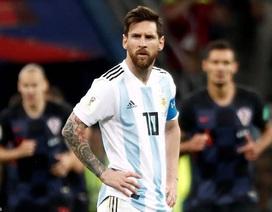 Khởi đầu tệ, Argentina đối diện với hàng loạt kỷ lục buồn tại World Cup