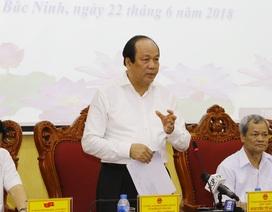Bộ trưởng và những tin nhắn ngoài giờ của Bí thư, Chủ tịch tỉnh Bắc Ninh