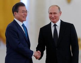 Chuyến thăm đầu tiên của tổng thống Hàn Quốc tới Nga sau 19 năm