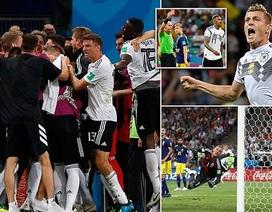 Những khoảnh khắc Toni Kroos mở toang cánh cửa đi tiếp cho Đức