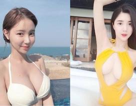 """Thiếu nữ Hàn Quốc đua nhau """"làm loạn"""" bãi biển bằng những kiểu bikini táo bạo"""