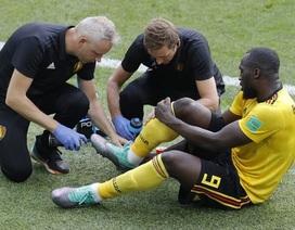 Lukaku chấn thương, có nguy cơ lỡ trận quyết đấu Bỉ - Anh