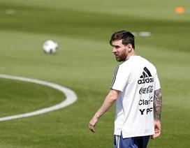 Messi quyết định đội hình ra sân trận Argentina gặp Nigeria